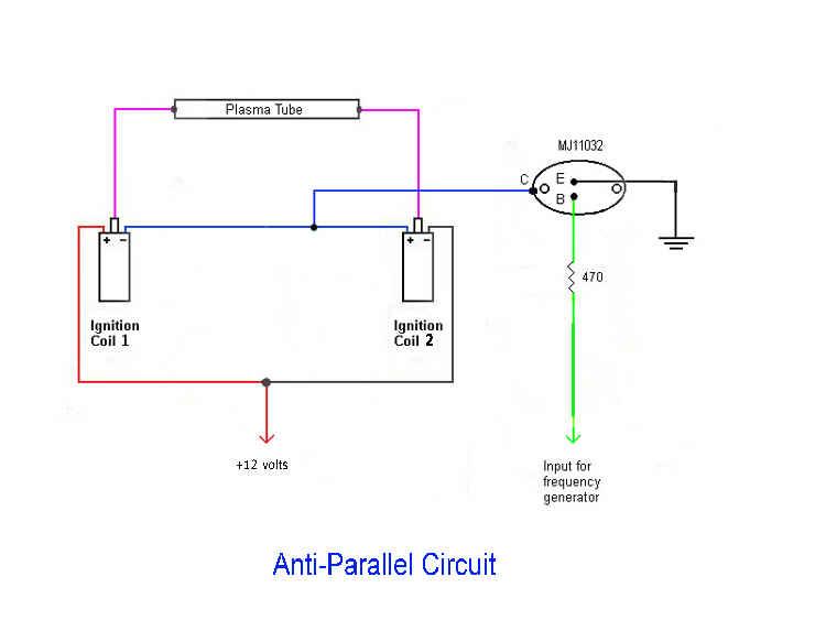 ELECTRO-CELLULAR ENERGIZER II - Switch Circuit Diagram